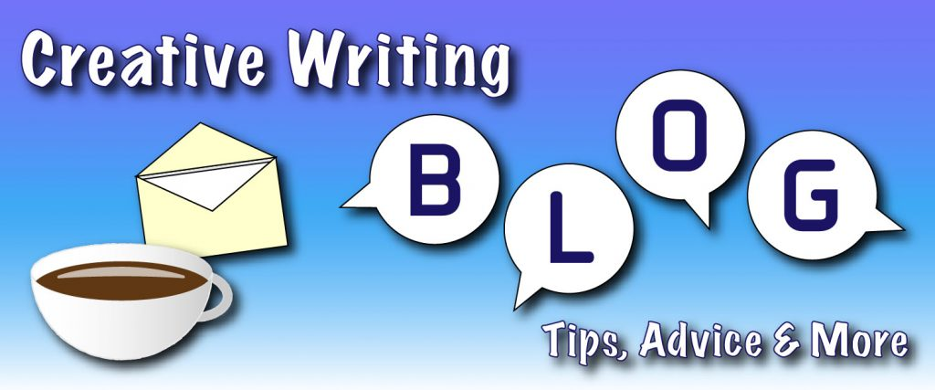 creative writing blog banner